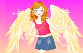 Flash-game-dress-up-with-an-angel
