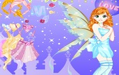 Fairy-dress-up-permainan
