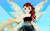 Funky-dress-spel-med-en-angel