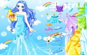 Spel-dress-aquatic